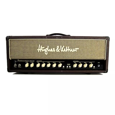 Hughes & Kettner Statesman DUAL EL34 2-Channel 50-Watt Guitar Amp Head