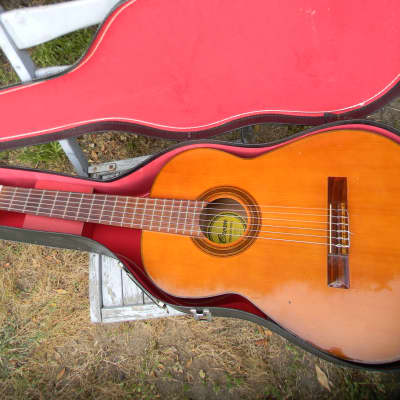 Vintage Crown Professional Classical Guitar + Case - JAPAN for sale