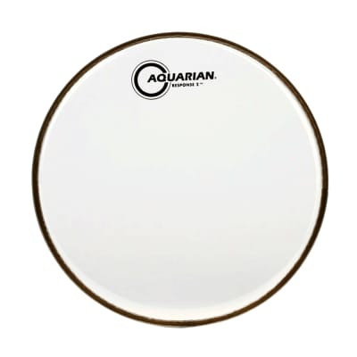 "Aquarian Response 2 Clear 13"" Drum Head - Batter"