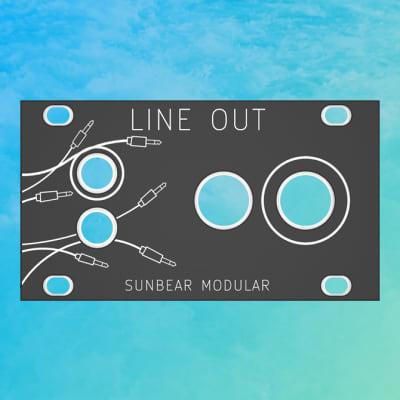 Sunbear Modular - 2-Channel Line Out (1U Intellijel Format)