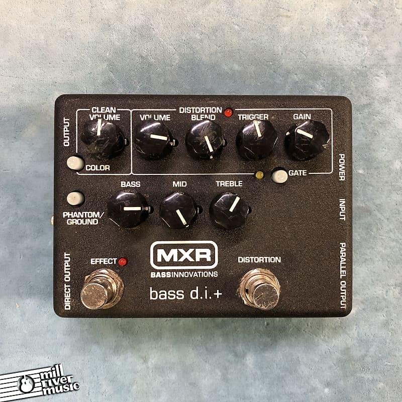 MXR M80 Bass D.I.+ Direct Box / Distortion Effects Pedal
