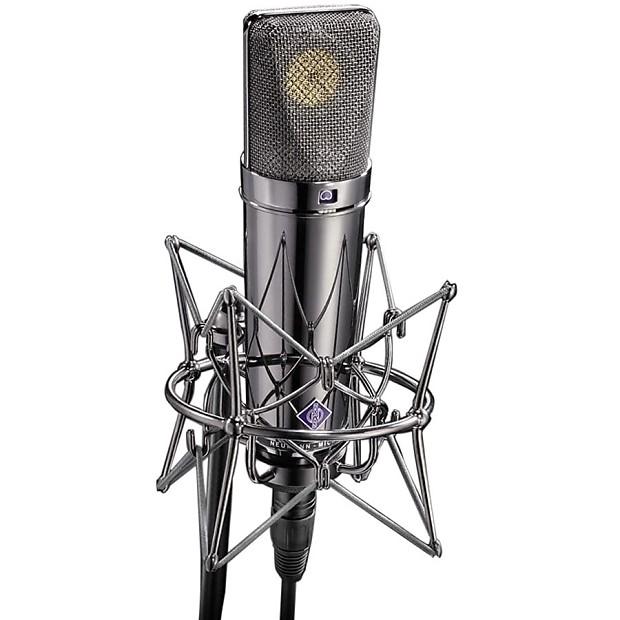 neumann u 87 rhodium edition microphone calistro music reverb. Black Bedroom Furniture Sets. Home Design Ideas