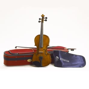Stentor 1500 Student II 4/4 Violin with Case and Bow