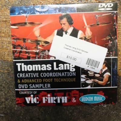 """Thomas Lang: Creative Coordination & Advanced Drum Foot Technique"" DVD Sampler"