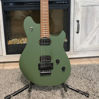 EVH Wolfgang WG Standard with Baked Maple Neck 2020 - 2021 Matte Army Drab for sale