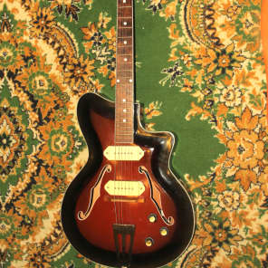 CREMONA Hollow Body Soviet Electric Guitar jolana musima ORFEUS for sale