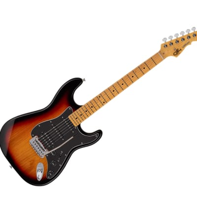 G&L Tribute Legacy HB 3-Tone Sunburst w/ Maple Fingerboard for sale