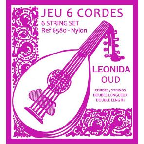 Savarez 6580 Leonida Double Length Nylon Oud Strings (6)