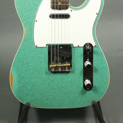 Fender Custom Shop 60's Tele (Ltd Custom NAMM Relic) Seafoam Sparkle for sale