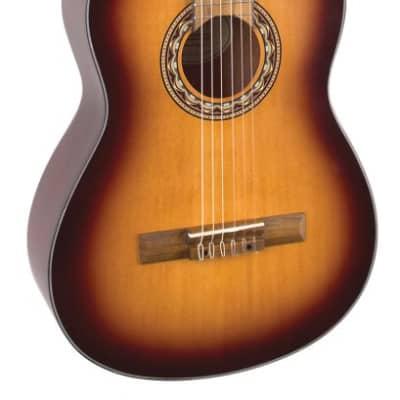 Valencia VC304 Classical Guitar Antique Sunburst