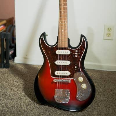 Hy-Lo vintage 2 tone sunburst electric guitar for sale