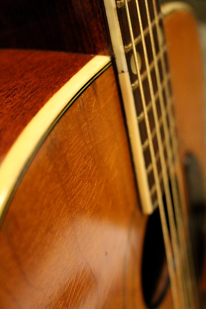 Vintage Kay 6100 Country Acoustic Guitar Made In Usa Late