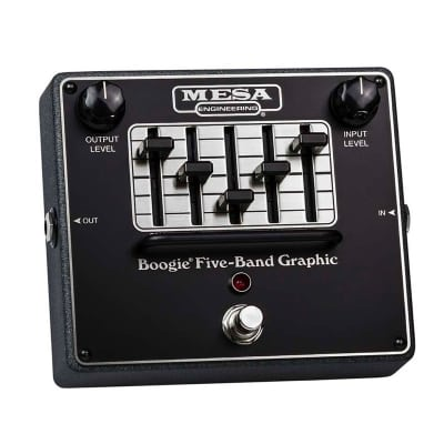 MESA BOOGIE FIVE-BAND GRAPHIC EQ PEDAL for sale