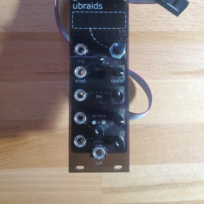 Mutable Instruments Micro Braids [uBraids SE] (Eurorack Digital Macro Oscillator) *Screen Issue*