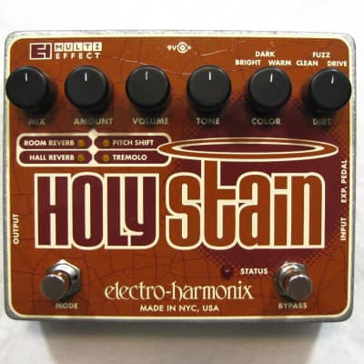 Used Electro-Harmonix EHX Holy Stain Distortion/Reverb/Pitch Pedal