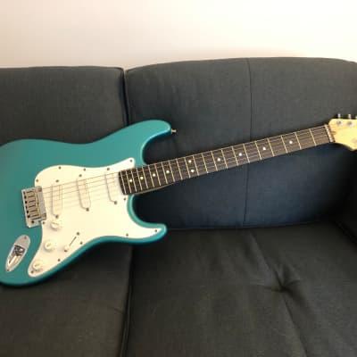 MINT Fender Strat Plus 1993 Caribbean Mist for sale