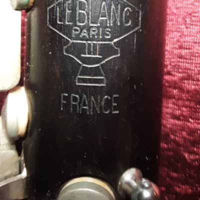 "Leblanc Symphonie ""3"" professional clarinet"