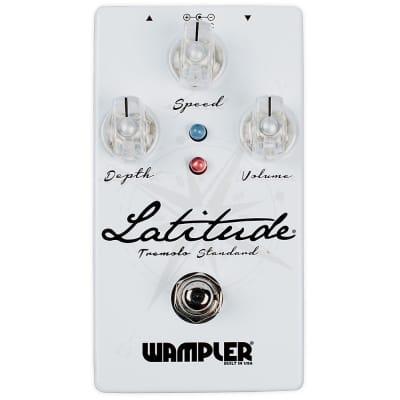 Wampler Latitude Standard Tremolo True Bypass Guitar Effects Pedal Stompbox 2