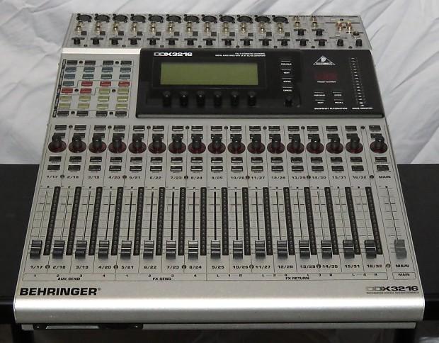 behringer ddx3216 ddx 3216 digital mixer in box w adat 16 reverb. Black Bedroom Furniture Sets. Home Design Ideas