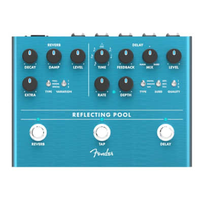 Fender Reflecting Pool Delay and Reverb Pedal for sale