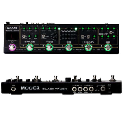 Mooer Black Truck 6 effects pedals in 1 Multi Guitar Effects Pedal incl Carry Case Offers Accepted