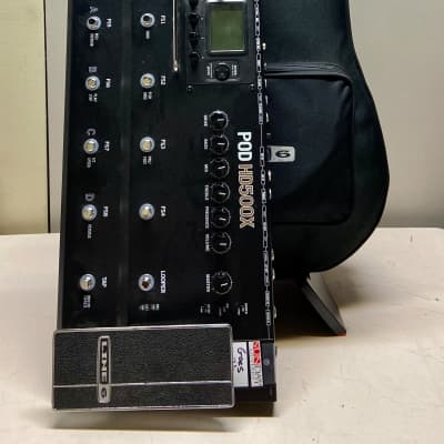 Line 6 James Tyler Variax & Pro HD500x POD w/Gigbag and Cables Gloss Black
