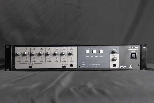 TASCAM FW-1804 DRIVERS DOWNLOAD FREE