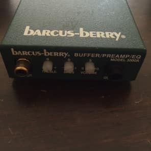 Barcus-Berry 6100 Electret Flute Mic System with Preamp