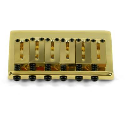 Kluson Replacement Hardtail Bridge For Fender American Standard Stratocaster Gold