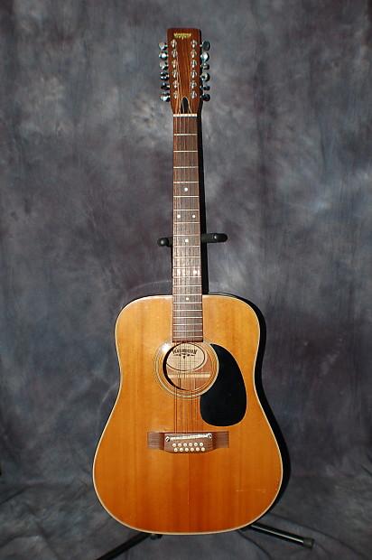 washburn w 240 12 string guitar pro setup beckman era mij reverb. Black Bedroom Furniture Sets. Home Design Ideas