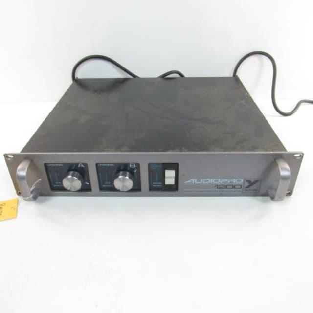 Yorkville AUDIOPRO 1200 Power Amp 1000 Watts image
