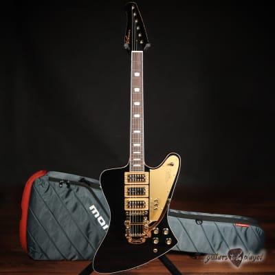 "Kauer Banshee Limited Edition ""Excalibur"" w/ TV Jones & Bigsby – Black & Gold for sale"
