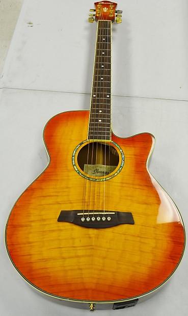 ibanez aeg20e vv 6 string acoustic electric guitar reverb. Black Bedroom Furniture Sets. Home Design Ideas