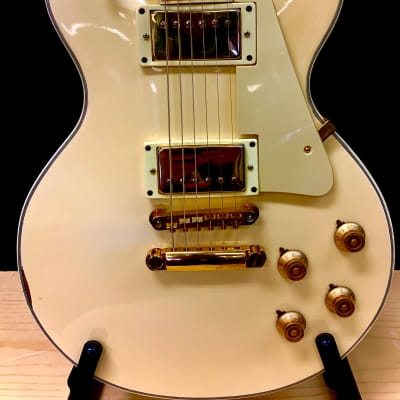 Fresher Single Cut Custom 1970s White w/ Gibson Bill Lawrence The Original Pickups for sale