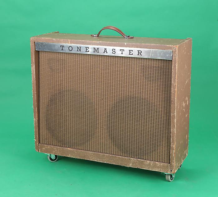 Magnatone 280 Amp Tonemaster Custom 381 1960 Brown Reverb