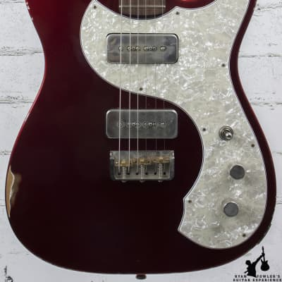 2017 Fano Standard TC6 Distressed Candy Apple Red CME Exclusive w/ Gig Bag for sale
