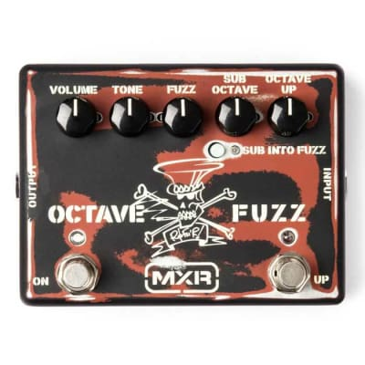 MXR SF01 Slash Octave Fuzz Gun's N Roses Guitar Effects Pedal for sale