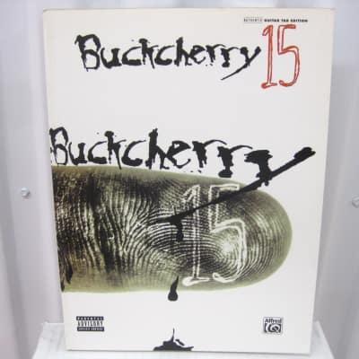 Buckcherry 15 Sheet Music Song Book Songbook Guitar Tab Tablature