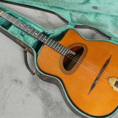 Stunning original Henri Selmer Maccaferri Tenor Guitar 1932 French polish + OHSC for sale