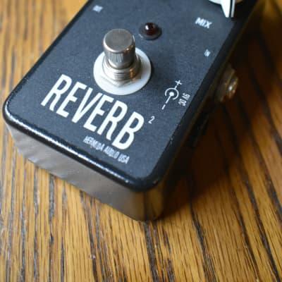 Hermida Audio Black Reverb Single knob Custom build