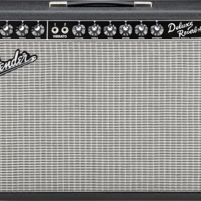 Fender Vintage Reissue '65 Deluxe Reverb Guitar Combo Amp Black for sale
