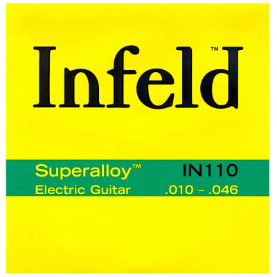 Thomastik-Infeld IN110 Infeld Superalloy Electric Guitar Strings - Medium Light (.10 - .46)