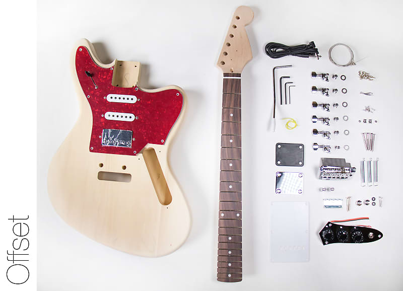 Do It Yourself Diy Electric Guitar Kit Jaguar Style Build Your Own: Building A Guitar Wiring Harness At Eklablog.co
