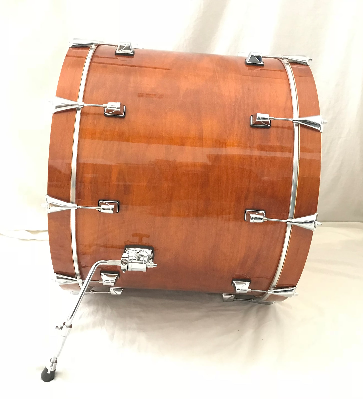 New Taye Drums TourPro 24x18 Naked Bass Drum In Beautiful