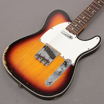 Fender Custom Shop 61 Custom Telecaster Relic Ash 3Color Sunburst 2012