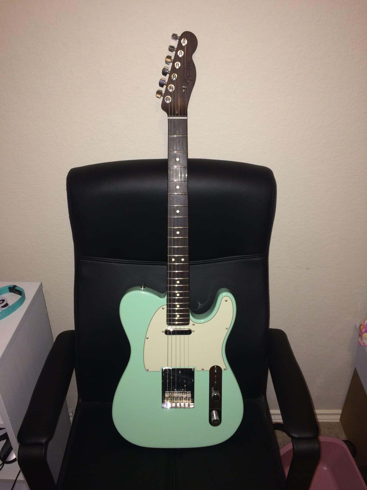 Fender Guitar Strap >> Fender Limited Edition American Standard Telecaster ...