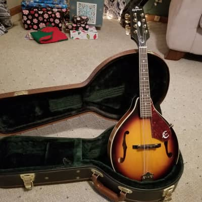 Epiphone MM-30E/AS A-Style Mandolin and Case for sale