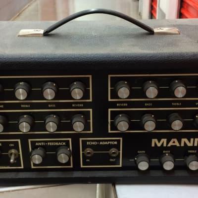 Vintage Garnet Mann M100PAR 4 Channel amp 70's for sale