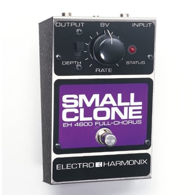 Electro-Harmon​ix Small Clone Analog Chorus Guitar Effects Pedal