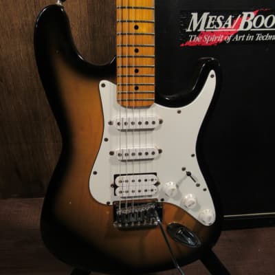 Rare 90s Epiphone  HSS S-310 Bat Wing Strat Style Electric Guitar With Case for sale